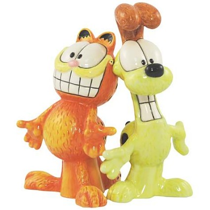 Garfield And Odie Salt And Pepper Shakers