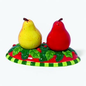 Pears Salt And Pepper Shakers