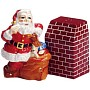 Coca-Cola Santa Clause Salt And Pepper Shakers