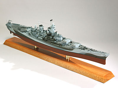 USS Missouri Scale Model Battleship