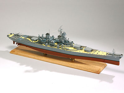 USS New Jersey Scale Model Battleship