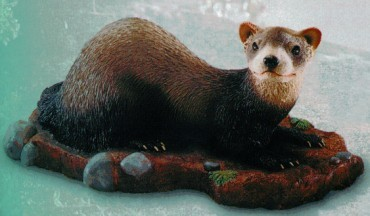 Ferret Living Size Figurine