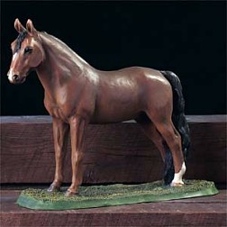 Morgan Horse Figurine