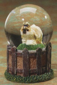 Shih Tzu Adult Kennel Club Waterglobe