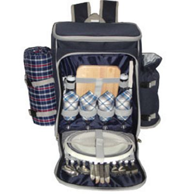 Somerset Backpack Picnic Basket For 4