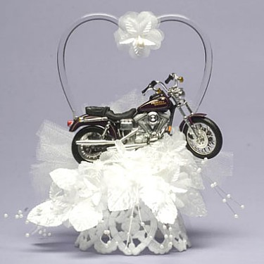 Motorcycle Cake Top